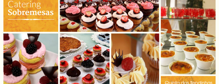 Catering Sobremesas Doces
